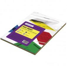 Бумага для принтера А4 цветная 80г/100л 4цвета*25л deep mix Офис-спейс 245198
