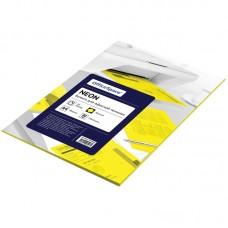 Бумага для принтера А4 цветная 80г/ 50л неон желтый Офис-спейс 245193