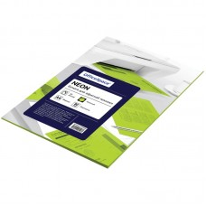 Бумага для принтера А4 цветная 80г/ 50л неон зеленый Офис-спейс 245194