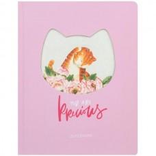 Дневник 1-11класс/тв.обл Pretty kitty (кошечка) вырубка Greenwich Line DSK_33621