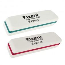Ластик Axent 1186-A скошеный мягкий ассорти Expert термопластичная резина
