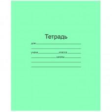Тетрадь 12л линия УЗКАЯ зел/обл Маяк Т5012 Т2 ЗЕЛ 3Г (***)