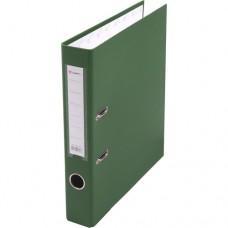 Папка-регистратор А4 50мм ПВХ цвет зеленый карман на корешке+метал.окантовка Lamark AF0601-GN1