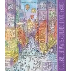 Тетрадь 40л Апплика Цветной город, обл.офсет С7149-09 блок офсет №2