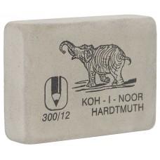 Ластик Koh-i-Noor Слон 300/12 белый гигант (Чехия) 48*37*16мм