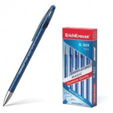 Ручка пишет-стирает гелевая Erich Krause R-301 Magic Gel синяя узел 0,5мм, линия 0,4мм  45211