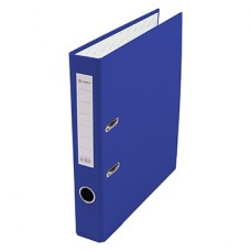Папка-регистратор А4 50мм ПВХ цвет синий карман на корешке+метал.окантовка Lamark AF0601-BL1