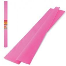 Бумага крепированная 50*250см розовая 32г Brauberg в рулоне126532