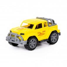 Автомобиль Легионер-мини желтый 21,5*12*10см в сетке Полесье 84668