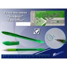 Ручка шар. J.Otten 5022 масляная зеленая 0,7мм квадратное сечение EASY OFFICE