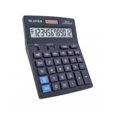 Калькулятор настольный 12-разрядов Skainer SK-111 черный корпус 14*18см бухгалтерский
