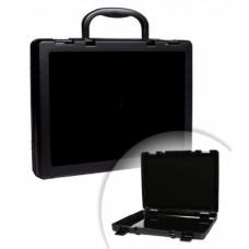 Портфель-кейс А4 для переноски и хранения документации черный КС10