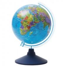 Глобус 150мм политический на голубой подставке GLOBEN Классик Евро Ке011500197