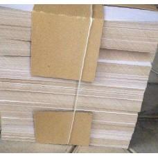 Картон для подшивки документов А4+ 260/360гр хром-эрзац (236*310мм) 1/200шт