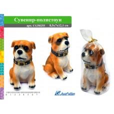Сувенир полистоун Собака 8,5*7*12см CG50255