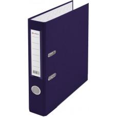 Папка-регистратор А4 50мм ПВХ цвет фиолетовый карман на корешке Lamark AF0601-VL1