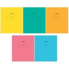 Тетрадь 12л линия КОСАЯ цвет/обложка Однотонная Intensive (5 видов) Арт-спейс Т12нл_17903