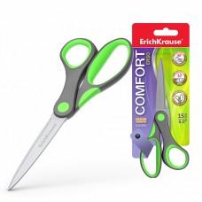 Ножницы 150мм пластиковые ручки ErichKrause Comfort 14844.35109 эргономичные, на блистере