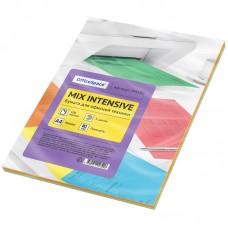 Бумага для принтера А4 цветная 80г/100л 5цветов*20л intensive mix Офис-спейс 245180