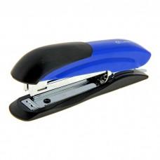 Степлер №10 12л Ulrich синий ST0630-BL с антистеплером и индикатором скоб Lamark