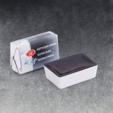 Краска акварель художественная Белые Ночи кювет 2,5мл Нейтрально-черная ЗХК 1911805