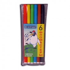 Фломастеры 06цв. Centropen Пингвины вентилируемые 7790/0686 (Чехия)