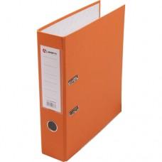 Папка-регистратор А4 80мм ПВХ цвет оранжевый карман на корешке +метал.окантовка Lamark AF0600-OR1/OR