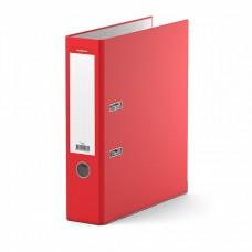 Папка-регистратор А4 70мм ПВХ цвет красный металл.уголок ErichKrause 280