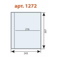 Файл для папки адресной А4 Меню на винтах с 3 отверстиями ДПС 1272/3