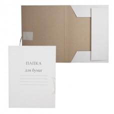 Папка для бумаг картонная с завязками 280гр (до 200л) 122292