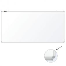 Доска магнитно-маркерная 90*180см белая настенная Brauberg 231716 алюминиевая рамка с полкой