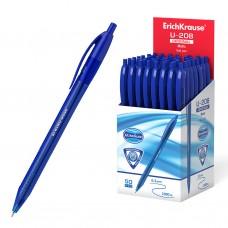 Ручка шар.авт. ErichKrause U-208 синяя 1,0мм 47602 игольчатая трехгран.синий корпус Original Matic