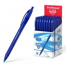 Ручка шар.авт. ErichKrause U-209 синяя 1,0мм 47610 трехгр.синий корпус с грипом Original Matic&Grip