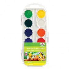 Краски акварель 12цв. Гамма медовая Пчелка 212040 пластик.коробка без кисти