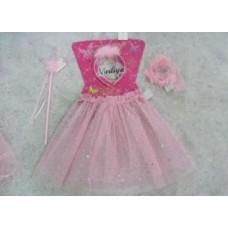 Костюм карнавальный Принцесса (юбка, ободок, браслет, волшебная палочка) Е91198