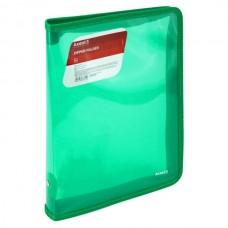 Папка для тетрадей А5+ молния вокруг Тонированная зеленая Axent 1802-26-A (28*21см) Zipper Folder