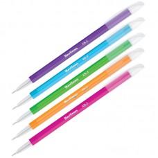 Ручка шар. Berlingo Slick синяя 0,7мм игольчатая, яркий корпус CBp_07772
