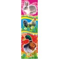 Закладка для книг БВ глит Домашние животные 052,1346-1348.1678-1680