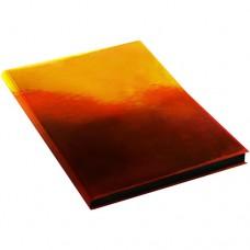 Ежедневник А5 недат. 136л Эксмо интегр обложка пластик перламутр Хамелеон Оранжевый ЕКХ51813601