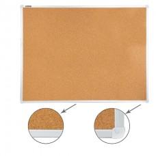 Доска пробковая 90*120см Brauberg алюминевая рамка для объявлений 236445