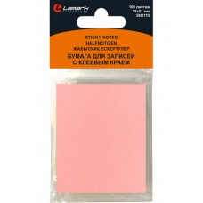 Блок самоклеящ.38*51мм 100л пастель розовый Lamark SN1110-PN