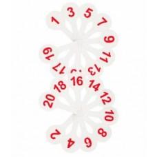 Касса-веер. Цифры (1-20) Стамм ВК05