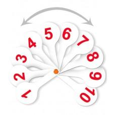 Касса-веер. Цифры (1-20) прямой и обратный счет Стамм ВК15