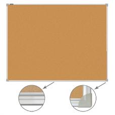Доска пробковая 60*90см Brauberg алюминиевая рамка 231712