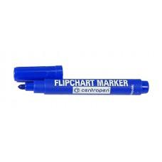 Маркер водный для бумажного блока FLIPCHART синий Centropen 8550/0106